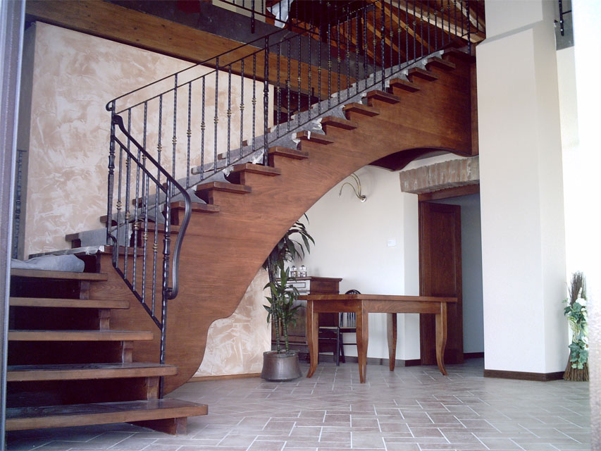 Ferrari scale falegnameria verona scale per interni in legno progettazione e vendita - Tipologia di scale ...