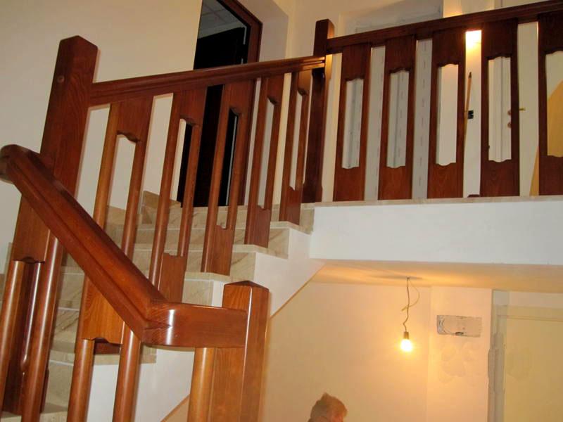 Preferenza FERRARI SCALE :: falegnameria Verona scale per interni in legno  HJ16