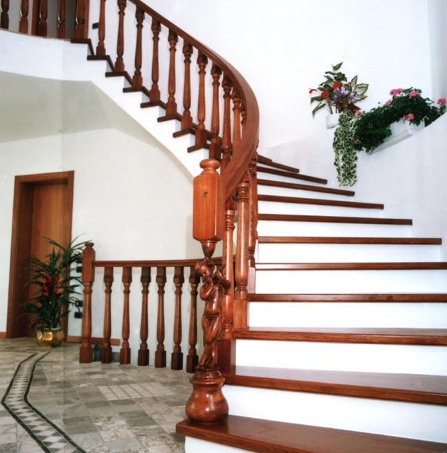 FERRARI SCALE :: falegnameria Verona scale per interni in legno ...