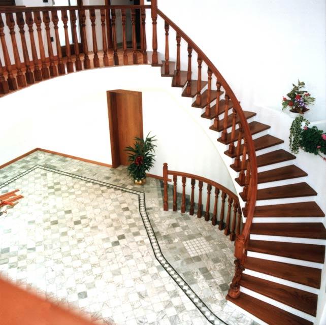 Connu FERRARI SCALE :: falegnameria Verona scale per interni in legno  BN01