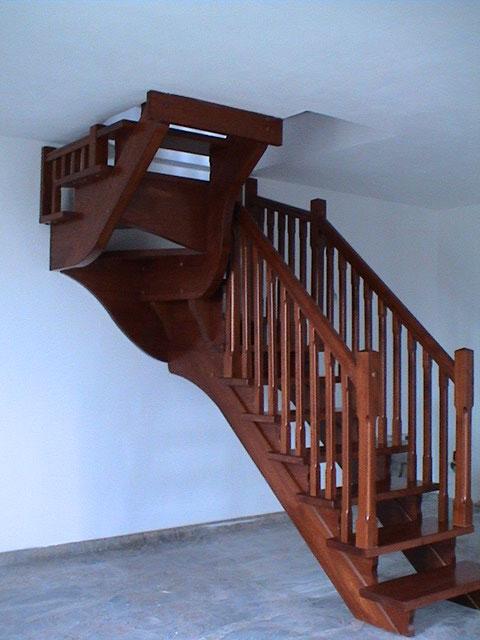 spesso FERRARI SCALE :: falegnameria Verona scale per interni in legno  GF53