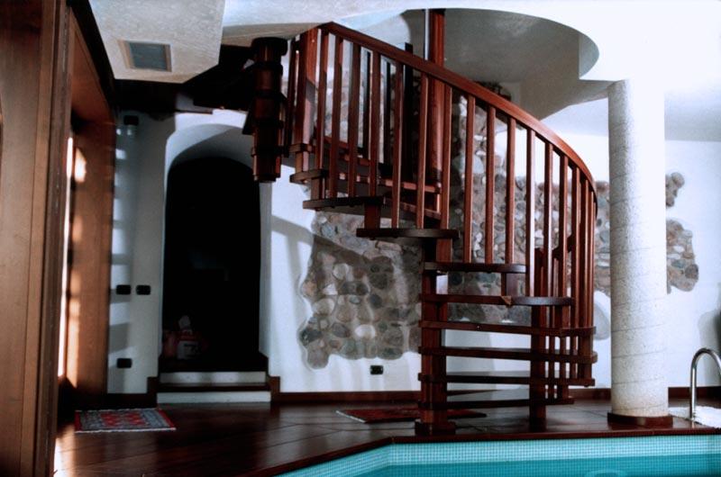 Progettazione Scale A Chiocciola : Ferrari scale :: falegnameria verona scale per interni in legno