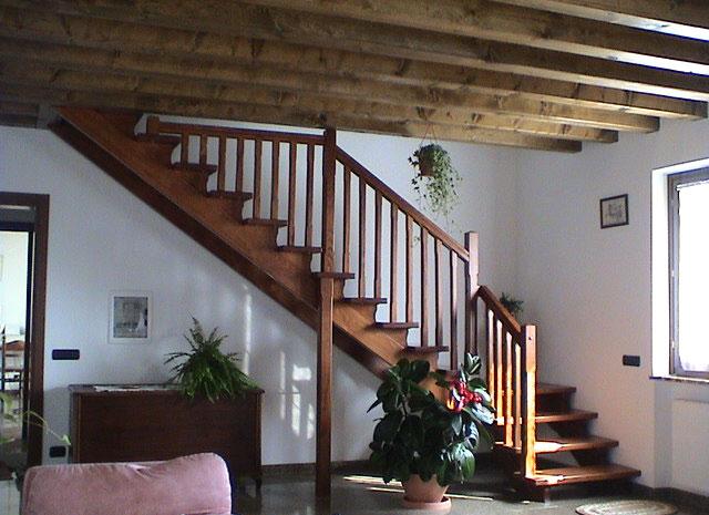 Ferrari scale falegnameria verona scale per interni - Scale rivestite in legno per interni ...